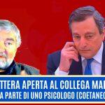 Piccola lettera aperta al collega Mario Draghi, da parte di uno psicologo (coetaneo)